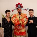 Choi Sun with celebrities
