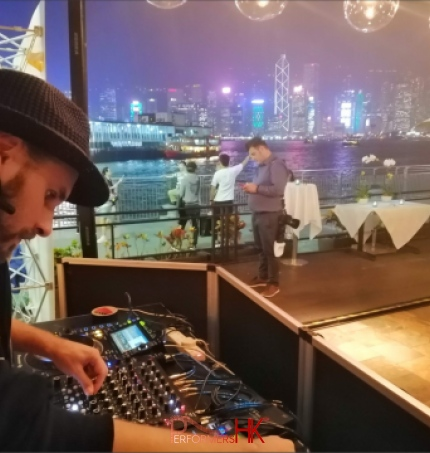 DJ Pure at Al Molo in TST