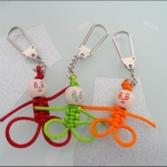 lucky charm person key chain