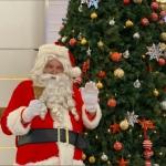 Santa Gerard at mira mall