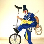 Comedy circus performance at parties, dinners and festivals in Hong Kong featuring Funny Benn