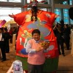 Giant Choi Sun at HKCEC.