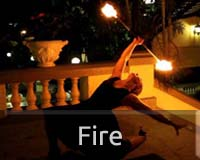 Fire performer images
